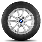 BMW 3 series F30 F31 4 series F32 F33 16 inch rim winter tyres winter wheels