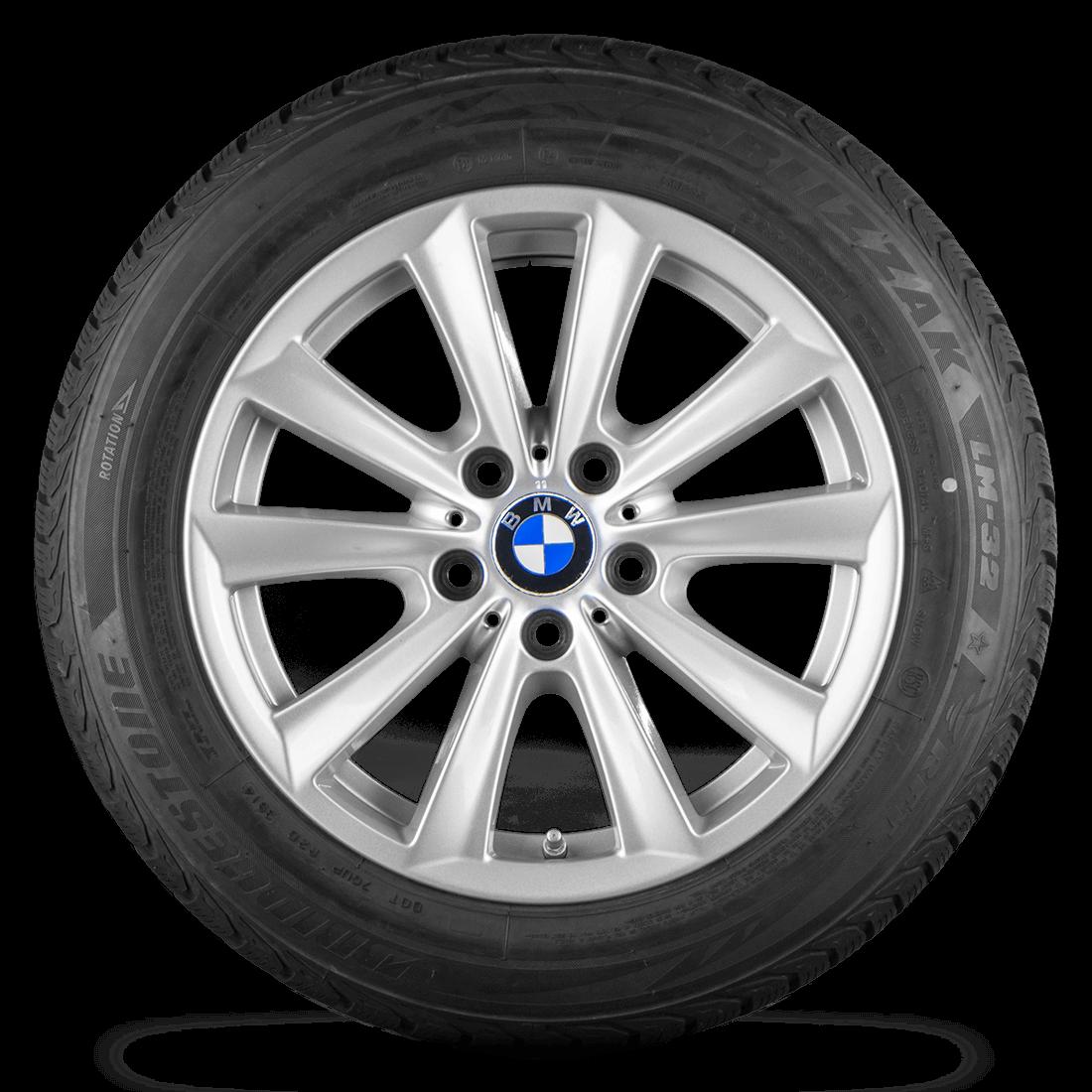 BMW 5er F10 F11 6er F12 F13 17 Zoll Alufelgen Winterreifen Felgen Styling 236