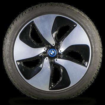 BMW i8 20 Zoll Alufelgen Felgen Winterreifen Winterräder 7mm Turbinenstyling 444 – Bild 5
