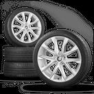 Seat Leon ST FR III 5F 18 Zoll Alufelgen Felgen Sommerreifen Performance I 7 mm