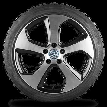 VW Golf 5 6 7 VI GTI 5G 18 Zoll Felgen Alufelgen Austin Sommerreifen 5G0601025AS – Bild 3