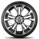 BMW X3 F25 X4 F26 21 inch alloy wheels rim summer tires Styling 6861374 M599
