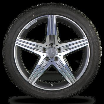 Mercedes S-Klasse S 63 S 65 AMG W222 C217 20 Zoll Winterreifen Alufelgen Felgen – Bild 5