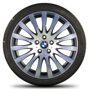 BMW 5 series E60 E61 19 inch alloy wheels rim summer tires 6774774 Styling 190