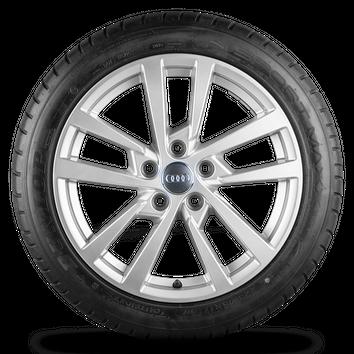 Original Audi 17 Zoll Felgen A3 S3 8V Alufelgen Dunlop Sommerreifen Sommerräder – Bild 2