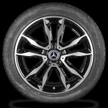 Mercedes GLA X156 W156 19 Zoll Alufelgen Felgen Sommerreifen Sommerräder  – Bild 5