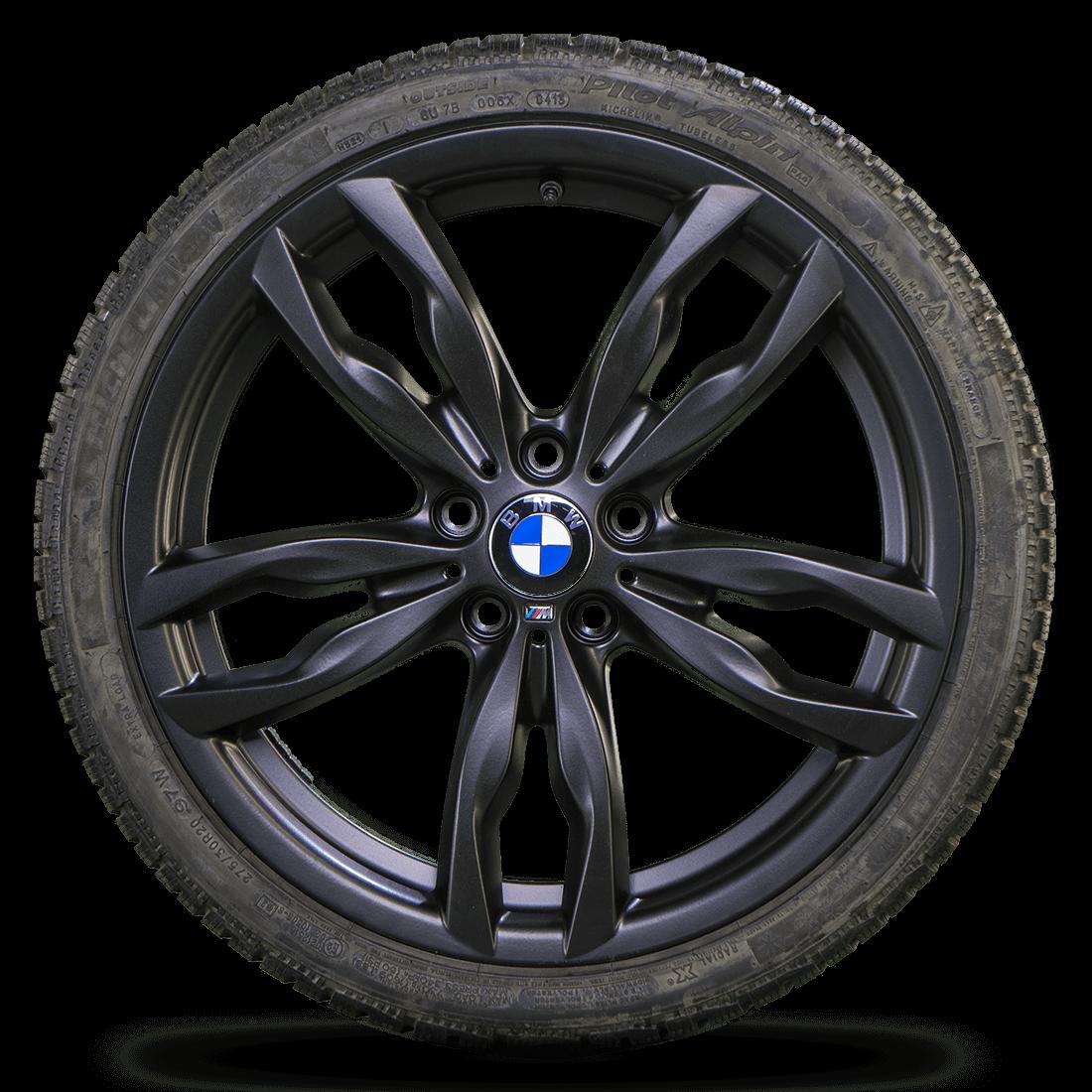 BMW 20 Zoll Winterreifen 5er F10 F11 6er F12 F13 F06 M434 Winterräder Felgen NEU