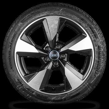 Audi A4 S4 B9 8W 18 Zoll Felgen Alufelgen Sommerreifen S line Pylon 8W0601025BC – Bild 3