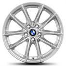 1x BMW Alufelge Felge 7,5 x 17 ET 27 6868217 5x112 66,5 silber Styling 618 NEU