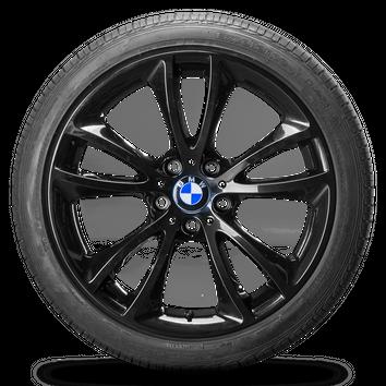 BMW 5er Touring F11 19 Zoll Alufelgen Felgen Sommerreifen 6794690 Styling 366 – Bild 3