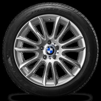BMW 5er GT F07 7er F01 F02 19 Zoll Felgen Alufelgen Sommerreifen Styling M302 – Bild 5