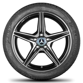 AMG Mercedes Benz C43 C 450 Sport W205 18 Zoll Alufelgen Felgen Winterreifen – Bild 2