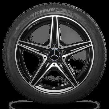 18 Zoll Mercedes C450 Sport C43 AMG Felgen Winterreifen Winterräder 6 mm – Bild 5