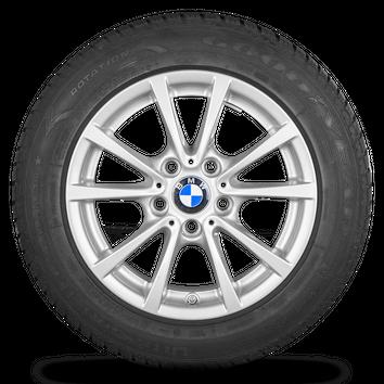 BMW 3er F30 F31 4er F32 F33 16 Zoll Alufelgen Felgen Winterreifen Styling 390 – Bild 4