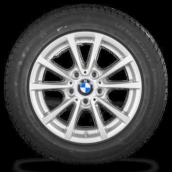 BMW 3er F30 F31 4er F32 F33 16 Zoll Alufelgen Felgen Winterreifen Styling 390 – Bild 2