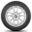 BMW 3 series F30 F31 4 series F32 F33 16 inch alloy wheels rim winter tyres