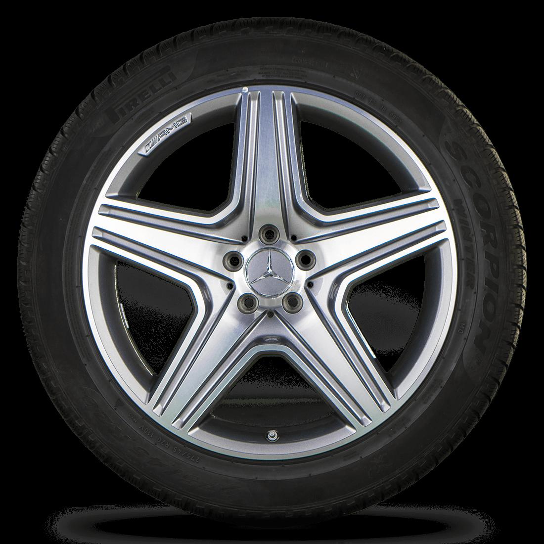 AMG Mercedes Benz GL GL63 X166 SUV 20 Zoll Felgen Alufelgen Winterreifen