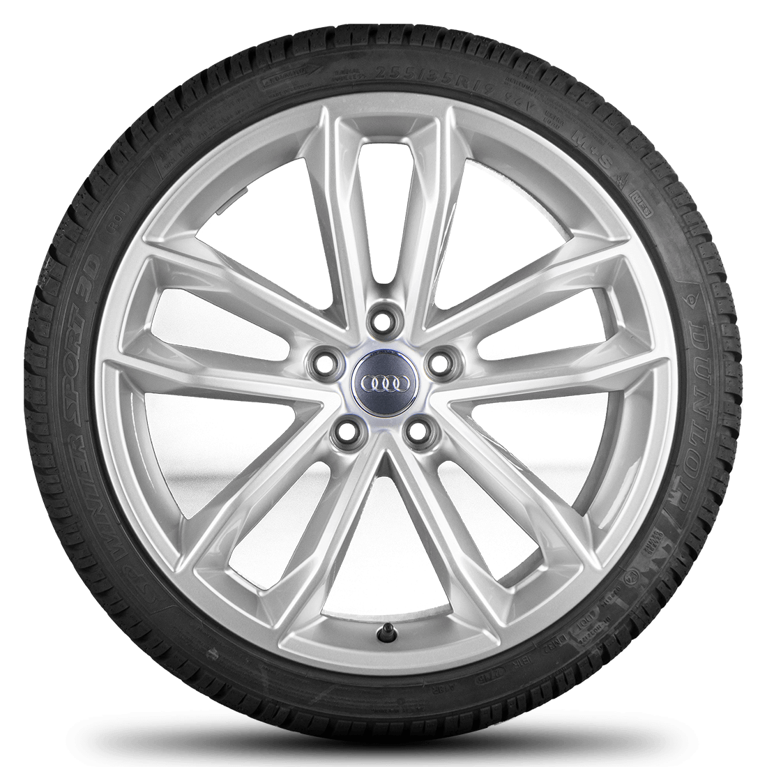 Audi A5 S5 8W F5 19 Inch Alloy Wheels Rim Winter Tyres Rotor S