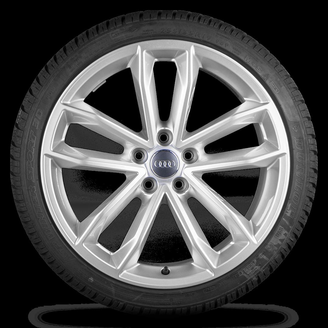 Audi A5 S5 8W F5 19 Zoll Alufelgen Felgen Winterreifen Rotor S line Cavo 7 mm