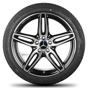 AMG Mercedes E-class W213 S213 19 inch rim alloy wheels summer tires