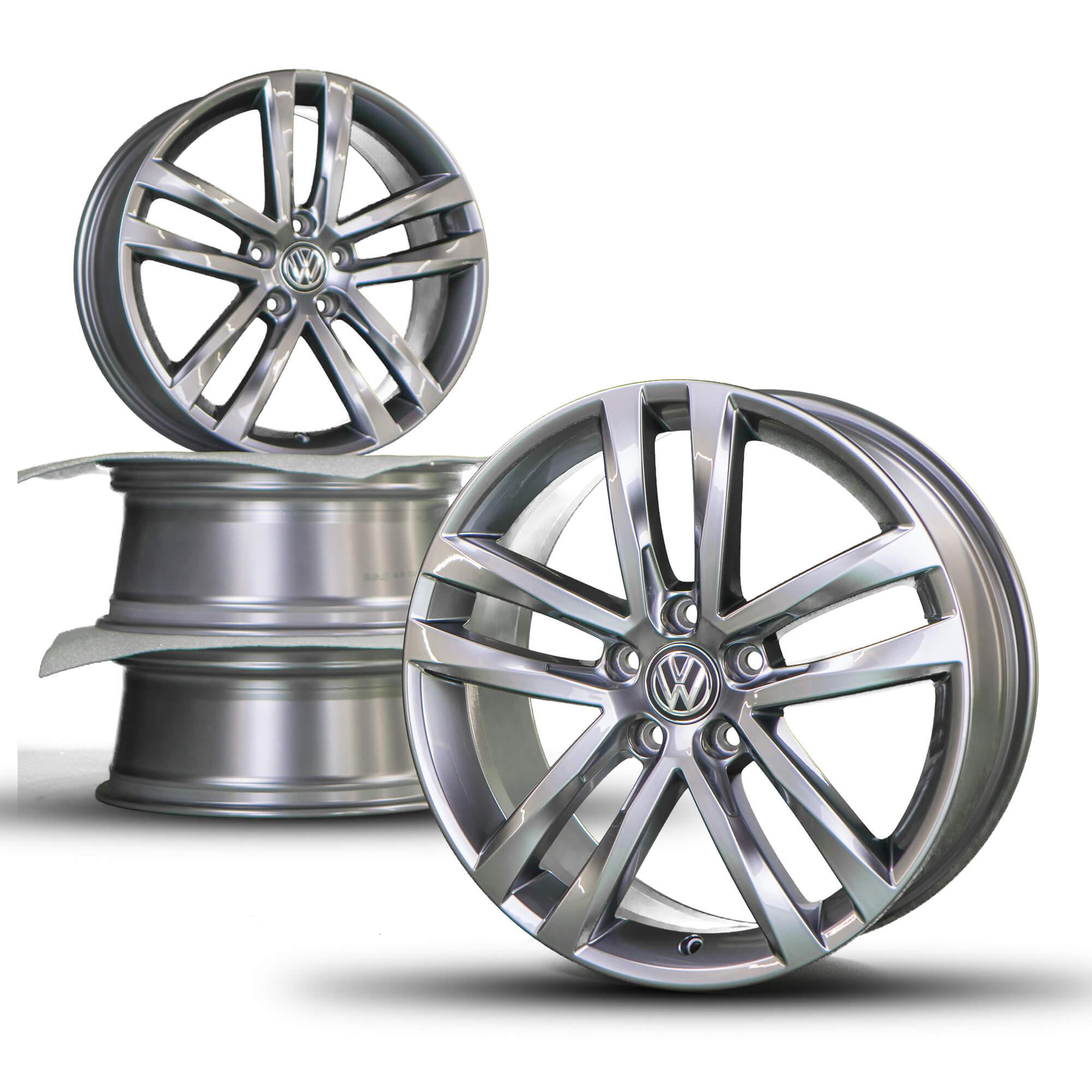 vw golf 5 6 7 18 inch alloy wheels rim r line gti gtd. Black Bedroom Furniture Sets. Home Design Ideas