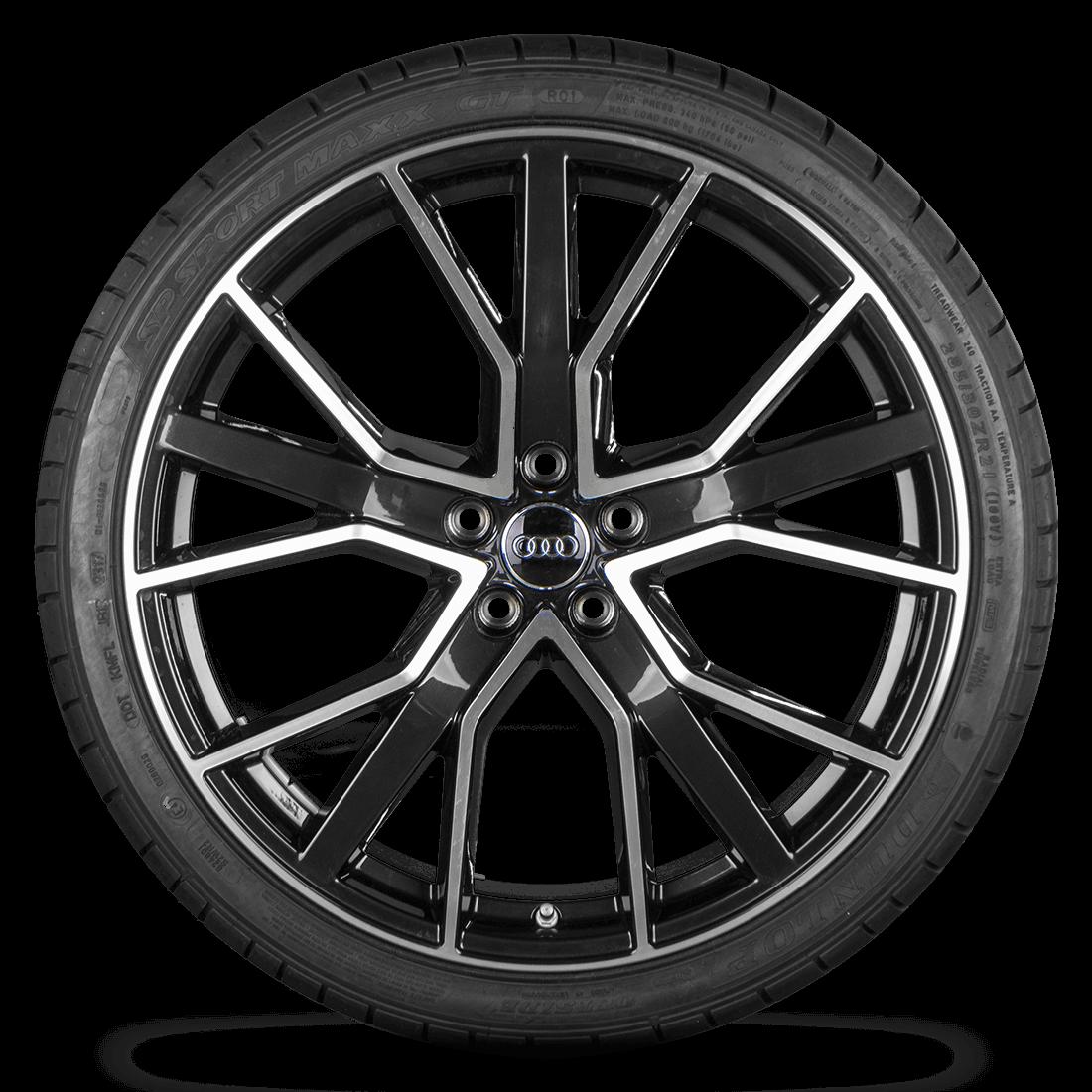 Audi RS6 4G 21 Zoll Alufelgen Sommerreifen Sline Performance Competition NEU