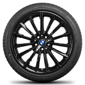 BMW 19 inch rim 5 series G30 G31 Sytling 633 alloy wheels winter tyres winter