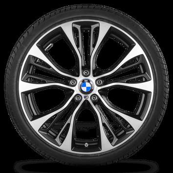 BMW X3 F25 X4 F26 21 Zoll Alufelgen Felgen Sommerreifen 6861374 Styling M599 – Bild 2