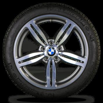 BMW M6 E63 E64 19 Zoll Alufelgen Felgen Winterreifen 7835146 Styling M167 – Bild 4