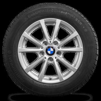 BMW 16 Zoll Winterräder 3er F30 F31 4er F32 F33 Felgen Winterreifen Styling 390 – Bild 2