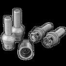 McGard Radsicherungen Felgenschlösser M14 x 1.5 x 37,1 mm loser Kugelbund für Seat Alhambra Ford Galaxy