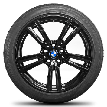 BMW 18 Zoll Alufelgen 2er F45 F46 Active Gran Tourer Sommerreifen Felgen M486 – Bild 5