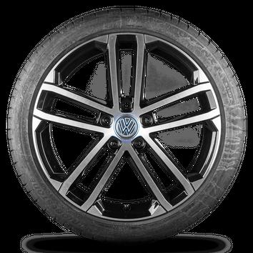 VW Golf 5 6 7 V VI VII GTI 18 Zoll Felgen Alufelgen Sommerreifen R line Nogaro – Bild 2