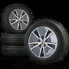 Audi A4 S4 B9 8W 17 Zoll Alufelge Felgen Sommerreifen 8W0601025DJ Sline Aero NEU