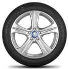 Mercedes Benz E class W213 S213 W238 18 inch alloy wheels rim winter tires