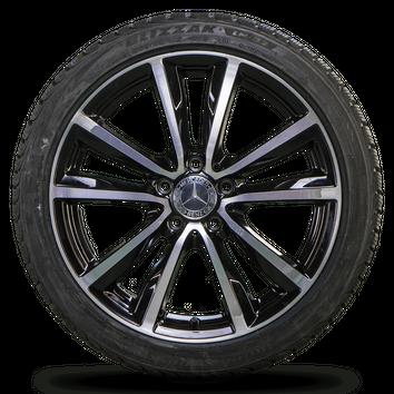 Mercedes 18 Zoll A B CLA Klasse W176 W246 W117 C117 Winterreifen Neu Felgen – Bild 5