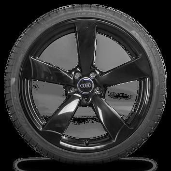 Audi 20 Zoll Felgen RS4 A5 S5 B8 8T 8F Alufelgen Rotor Winterreifen Winterräder 8 mm – Bild 5