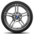 BMW 19 inch alloy wheels 3 series E90 E91 E92 E93 M Performance rim summer