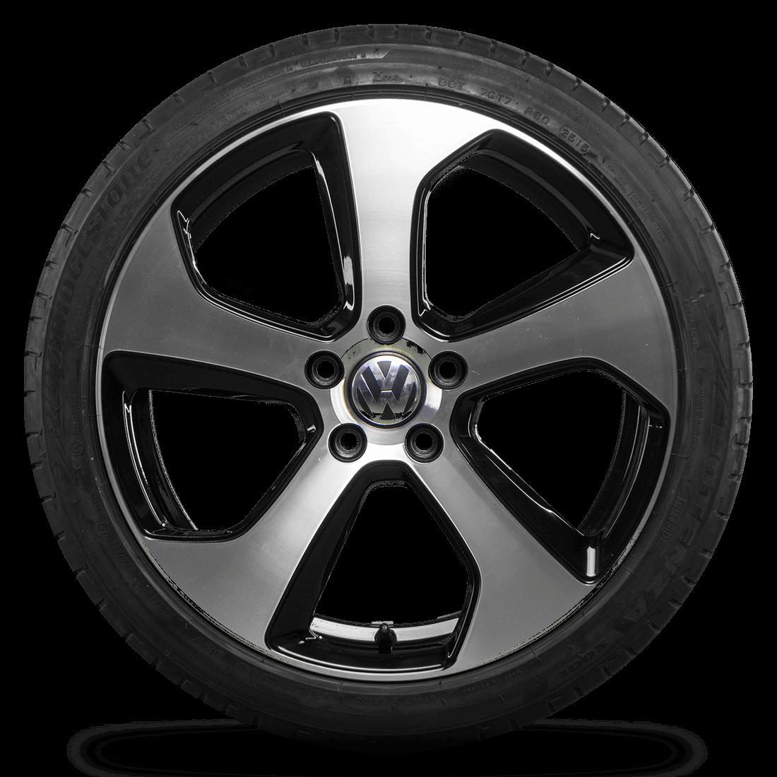 VW 18 Zoll Felgen Golf 7 6 GTI GTD R Alufelgen Austin Sommerreifen Sommerräder