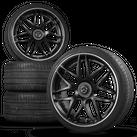 24 Zoll Lumma LR Alufelgen Felgen Sommerreifen für Mercedes GLE Coupé AMG