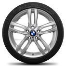 BMW 1 series F20 F21 2 series F22 F23 18 inch alloy wheels rim summer tires