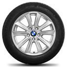 BMW 5 series F10 F11 6 series F12 F13 17 inch winter tyres alloy wheels Styling