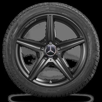 Mercedes AMG 18 Zoll Winterreifen C-Klasse W205 S205 A205 C205 Winterräder Neu – Bild 5
