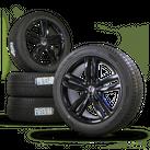 VW Touareg 7P 20 inch alloy wheels rim winter tyres winter wheels Pikes Peak