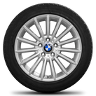 BMW 5 series F10 F11 6 series F12 F13 18 inch winter tyres rim winter wheels