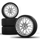original Audi 20 inch R8 V8 V10 4S rim alloy wheels Conti winter tyres S line