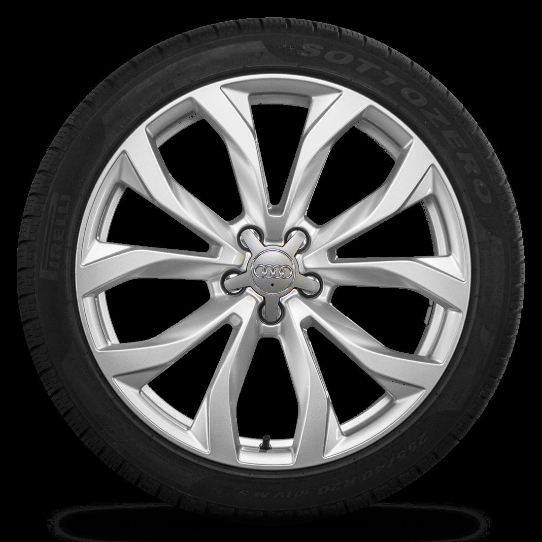 Audi 20 Zoll Felgen A6 S6 4G Allroad 4G9601025Q Winterreifen Winterräder 7 mm