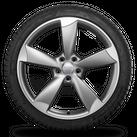 Audi 20 Zoll Alufelgen A6 S6 4G Rotor Felgen Winterreifen Winterräder 6,5 mm