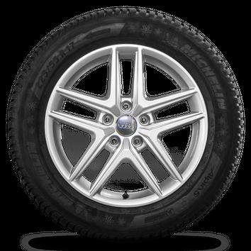 Audi 17 Zoll A4 Allroad 8W B9 Alufelgen Felgen Winterreifen Winterräder 8 mm – Bild 2