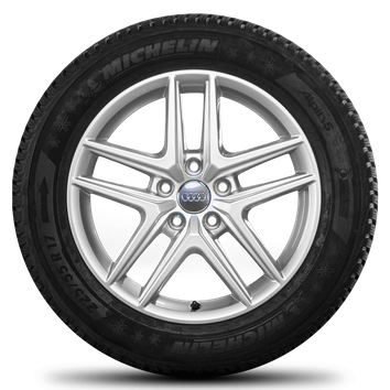 Audi 17 Zoll A4 Allroad 8W B9 Alufelgen Felgen Winterreifen Winterräder 8 mm – Bild 4